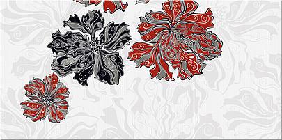"""Декоры Валькирия Азори: Декор Валькирия """"Цветы"""" (2) 405x201"""