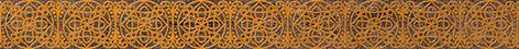 Бордюры Trevi Cersanit: Trevi Бордюр коричневый (TY1J111) 5x45