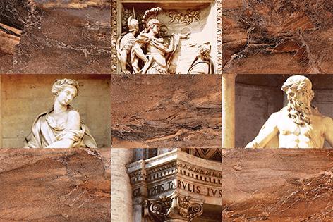 Декоры Trevi Cersanit: Trevi Декор коричневый (TY2N111D) 30x45