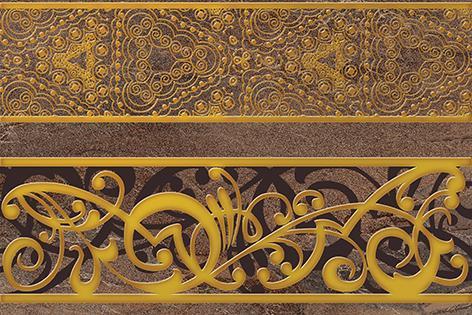 Декоры Trevi Cersanit: Trevi Декор коричневый (TY2N113) 30x45